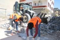 Viranşehir'de Kilitli Parke Çalışmaları Sürüyor