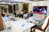 MEHMET ÇıNAR - Yeni Malatyaspor Yönetiminden Çınar'a Ziyaret