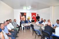 Başkan Gürkan Akçadağlı Muhtarla Bir Araya Geldi