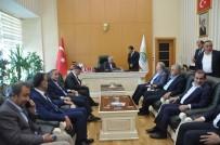 BITLIS EREN ÜNIVERSITESI - Binali Yıldırım Ve İsmet Yılmaz Bitlis'te Cenaze Törenine Katıldı