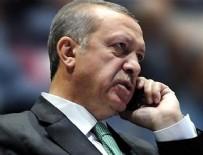 Cumhurbaşkanı Erdoğan, şehit ailelerine başsağlığı diledi