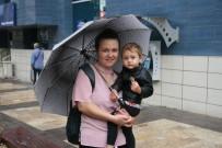 Denizli'de Beklenen Yağmur Yağışı Başladı