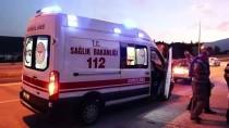 Freni Boşalan Otomobil Üniversite Öğrencilerine Çarptı Açıklaması 2 Yaralı