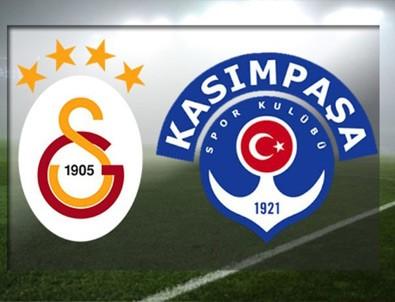 Galatasaray, Kasımpaşa'yı tek golle geçti
