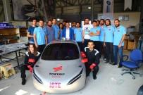 İskenderun'da Üniversite Öğrencileri İnsansız Hava Aracı Ve Hidrojenle Çalışan Otomobil Yaptı