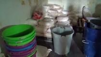 Kayseri'de Peynir İmalathanesine Baskın