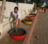 Kıbrıs İlkokulu Çiçeklerle Renklendi