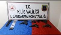 Kilis'te Silah Operasyonu  Açıklaması1 Gözaltı