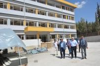 Milletvekili Dülger Yapımı Devam Eden Okulları Gezdi