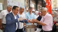 Mustafakemalpaşa'da Aşure İkramı Başkan Kanar'la Devam Etti