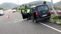 Ordu'da Trafik Kazası Açıklaması 4 Yaralı