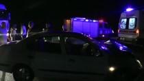 Söke'de İki Otomobil Çarpıştı Açıklaması 2 Yaralı