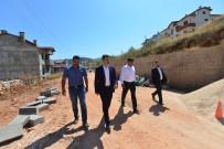Tokat'ta Alt Yapısı Tamamlanan Mahallelerde Yol Çalışması