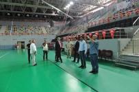 Trabzon'da Gelecek Yıl Yapılacak Olan Dünya İşitme Engelliler Güreş Şampiyonası Öncesinde İncelemelerde Bulunuldu