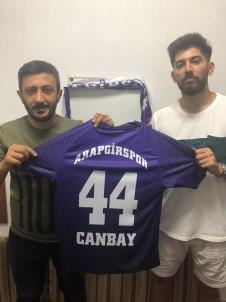 Ünlü Rap Şarkıcısı Vahap Canbay, Arapgirspor'a Transfer Oldu