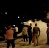 Yanan Aracının Başında Polisle Tartıştı Ardından Kıyafetlerini Çıkarıp Kaçtı
