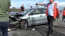 Yaralı Sürücüyü Ekipler Sakinleştirdi