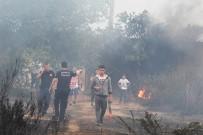 Antalya'da Ormanlık Alanda Çıkan Yangın Korkuttu