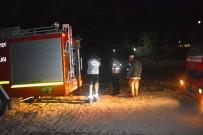 Ayvalık'ta Çıkan Arazi Yangın Korkuttu