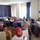 Burhaniye'de Bilgisayar Kurslarına Yoğun İlgi