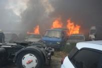 Bursa'da Yed-İ Emin Deposunda Büyük Yangın