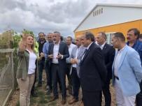 CHP Heyeti Altın Madeni Sahasında İncelemelerde Bulundu