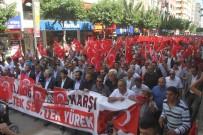 ZÜLFÜ DEMİRBAĞ - Elazığ'da 'Teröre Lanet' Yürüyüşü