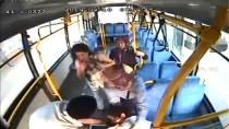 Hamile Yolcu Halk Otobüsüyle Hastaneye Yetiştirildi