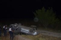 Konya'da Otomobil Takla Attı Açıklaması 3 Yaralı