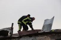 Müstakil Evde Çıkan Yangın Büyümeden Söndürüldü
