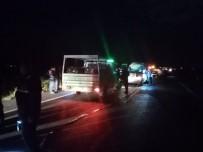 Nevşehir'de Trafik Kazası Açıklaması 1 Ölü, 2 Yaralı