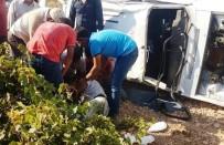 Şanlıurfa'da Otomobil Devrildi Açıklaması 1 Ölü
