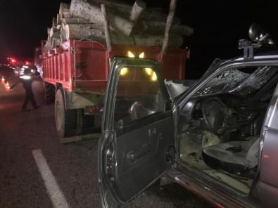 Sinop'ta Trafik Kazası Açıklaması 1 Ölü, 3 Yaralı