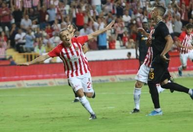 Süper Lig Açıklaması Antalyaspor Açıklaması 2 - İstikbal Mobilya Kayserispor Açıklaması 2 (Maç Sonucu)