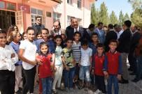 Vali Erin Ceylanpınar'da Öğrencilerle Buluştu