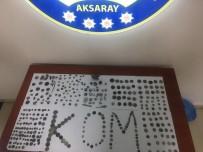 Aksaray'da 381 Adet Tarihi Eser Ele Geçirildi Açıklaması 5 Gözaltı