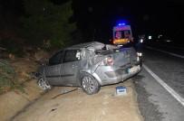 Antalya'da Trafik Kazası Açıklaması 1 Ölü, 1 Yaralı