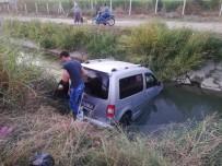 Aydın'da Ticari Araç Sulama Kanalına Uçtu Açıklaması 3 Yaralı