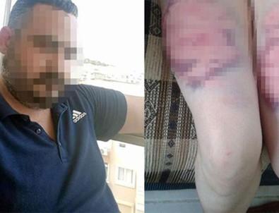 Eşini oklava ve kemerle dövmüştü! Cezası belli oldu