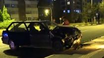 Kastamonu'da 2 Otomobil Çarpıştı Açıklaması 4 Yaralı