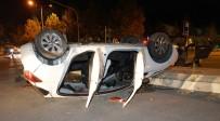 Kastamonu'da Kavşakta İki Otomobil Çarpıştı Açıklaması 4 Yaralı