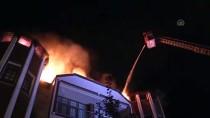 Kastamonu'daki Yangında 3 Katlı Konak Zarar Gördü