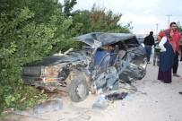 Konya'da Kamyon İle Otomobil Çarpıştı Açıklaması 5 Yaralı