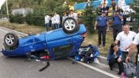 Samsun'da Yemekten Dönen Aile Kaza Yaptı Açıklaması 9 Yaralı