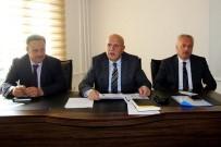 Başkan Pekmezci Birim Amirleriyle Toplantı Yaptı