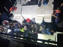 Datça'da 99 Göçmen Yakalandı