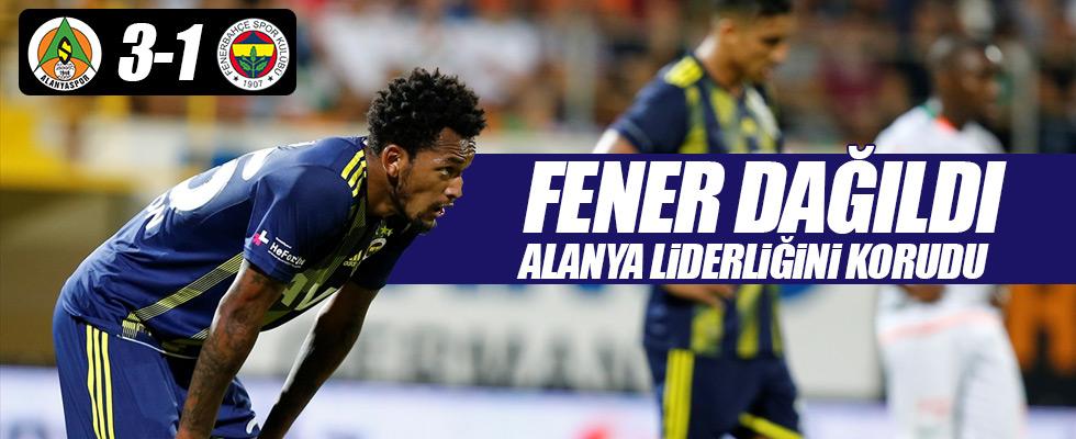 Fenerbahçe'ye Alanya şoku! 3-1
