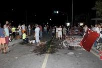 Fethiye'de Trafik Kazası Açıklaması 2 Yaralı