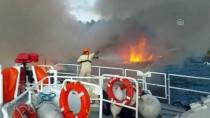 GÜNCELLEME - Muğla'da Yat Yangını Açıklaması 1 Ölü, 4 Yaralı