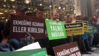 Canan Kaftancıoğlu - İBB'den Çıkartılan İşçiler CHP İstanbul İl Başkanlığı Önünde Eylem Yaptı